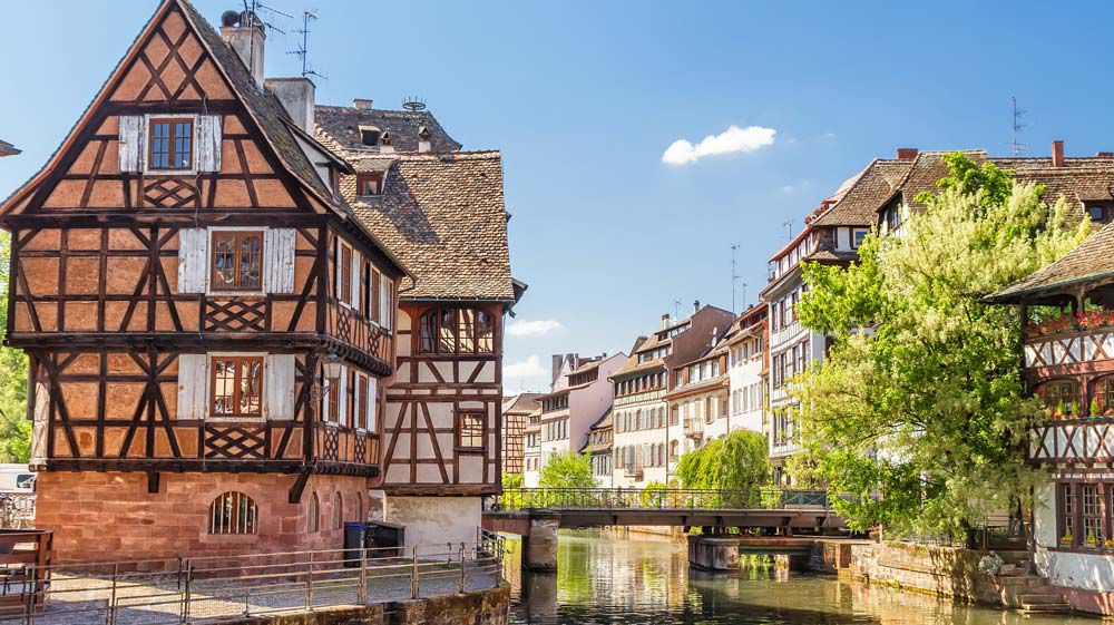 Alsace Houses Canals