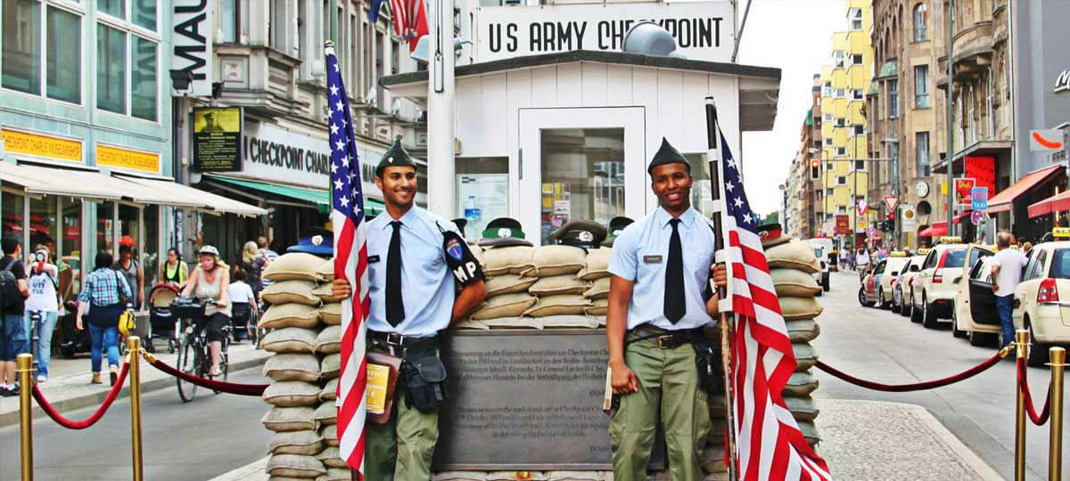 Check Point Charlie Berlin Germany