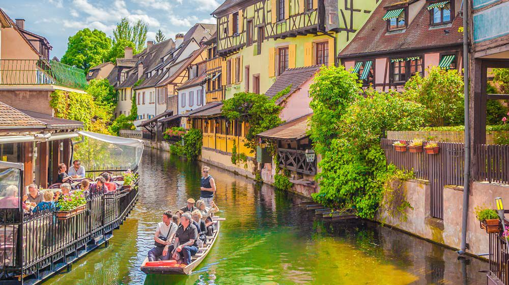 Strasbourg canal ride