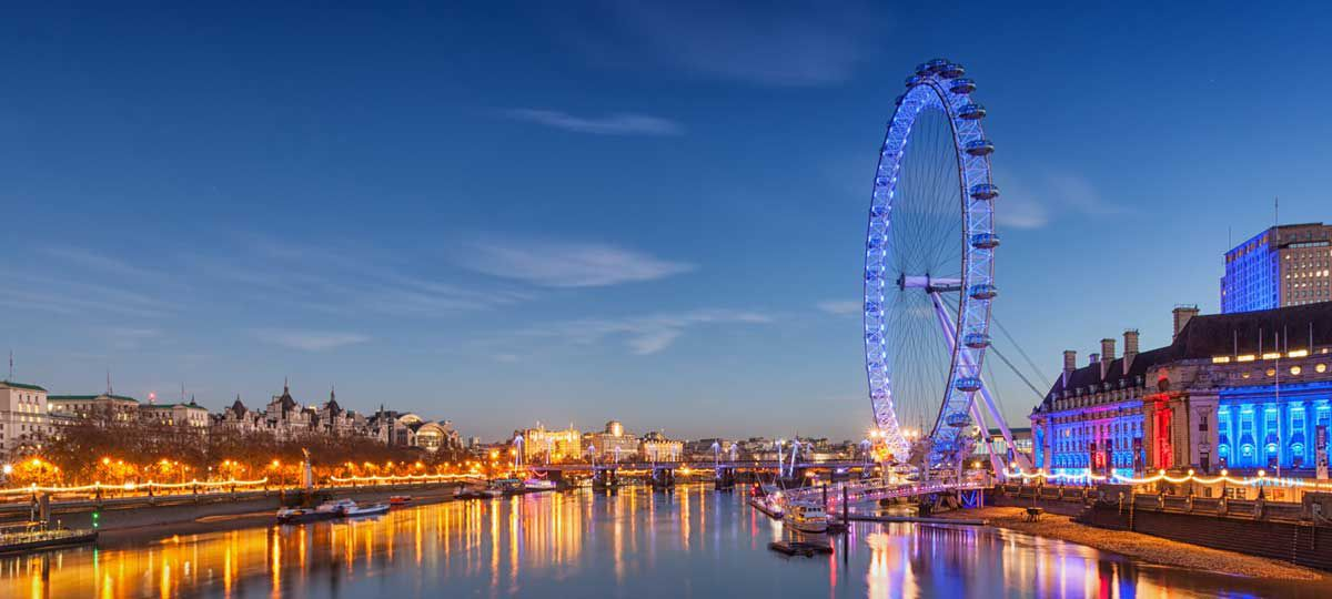 Themes River and London Eye