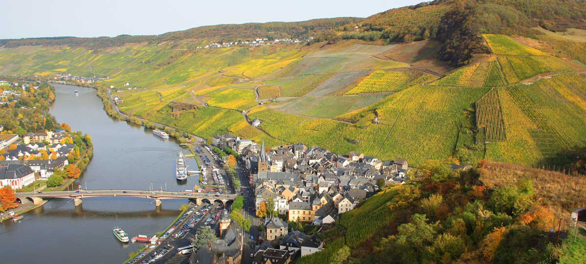 Mosel River and Valley Germany