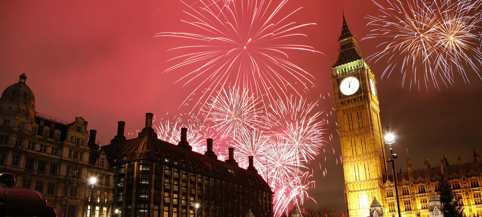 New Years in London