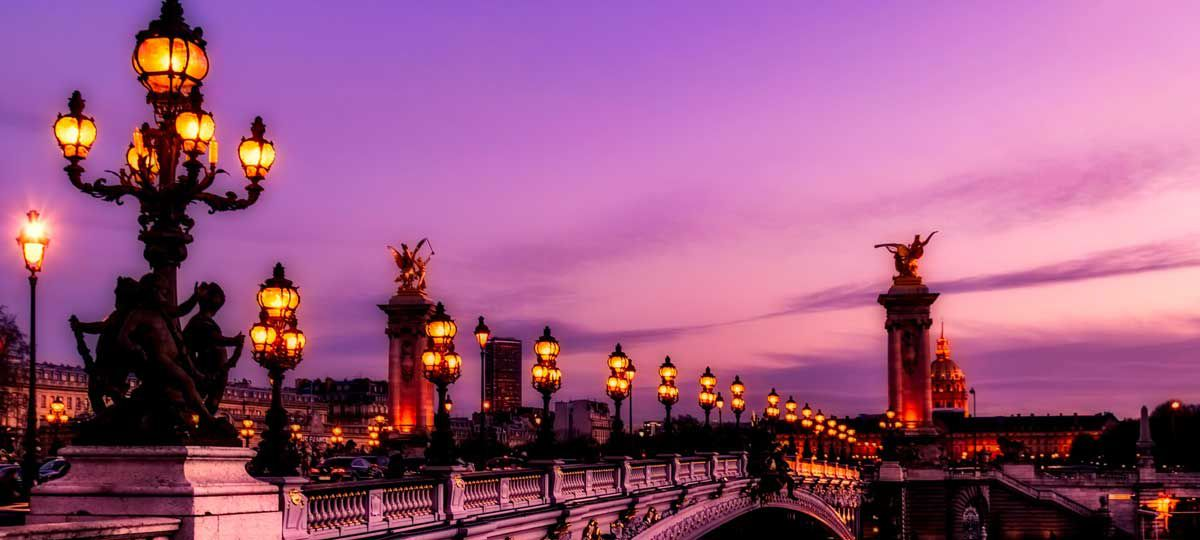 Bridges of Paris France