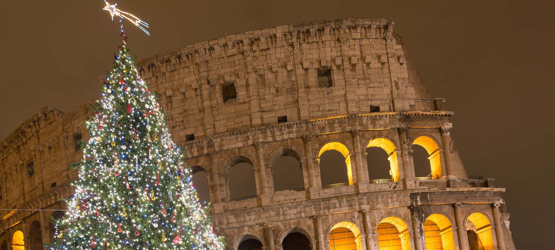Christmas at the Coluseum in Rome