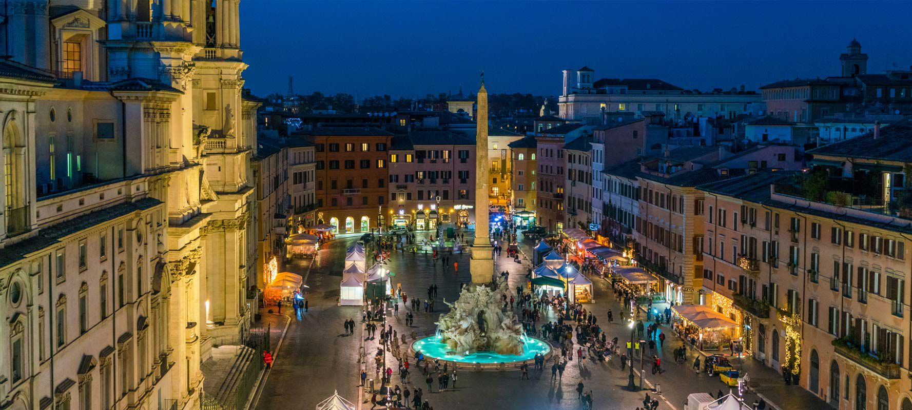 Christmas Market in Rome