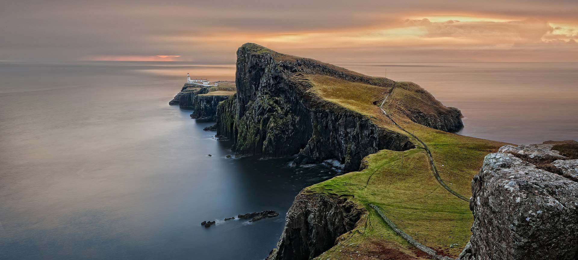 Scotish coastline